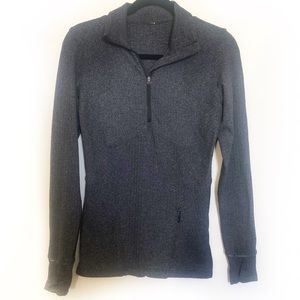 Lululemon Kanto Catch Me Half Zip Herringbone 6